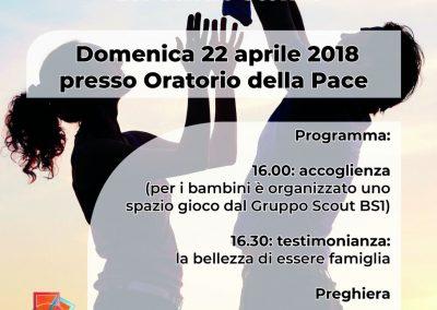 Incontro delle Famiglie - Aprile 2018