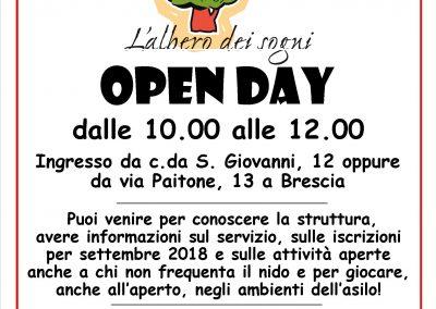 Open Day - Giugno 2018